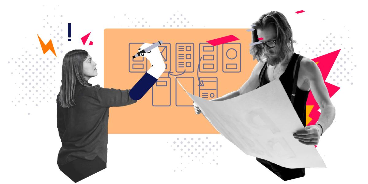 how to design an app team