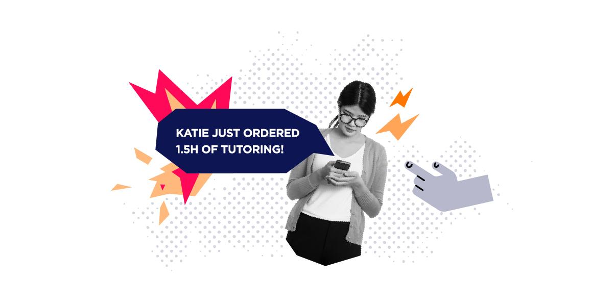 on demand services app tutoring job