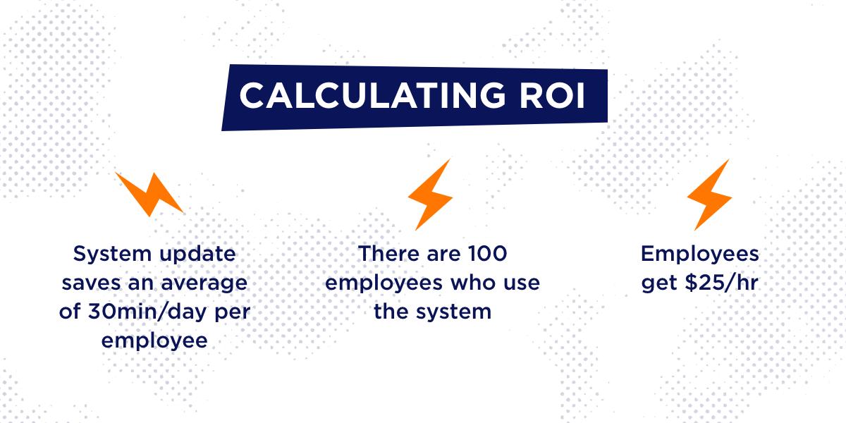 Calculating ROI slide 1