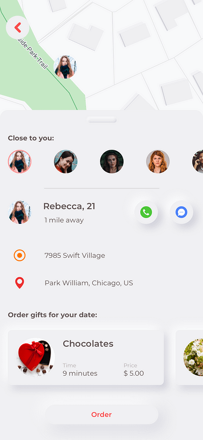 tinder clone example of in app purchasing