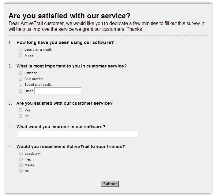 data-collection-survey