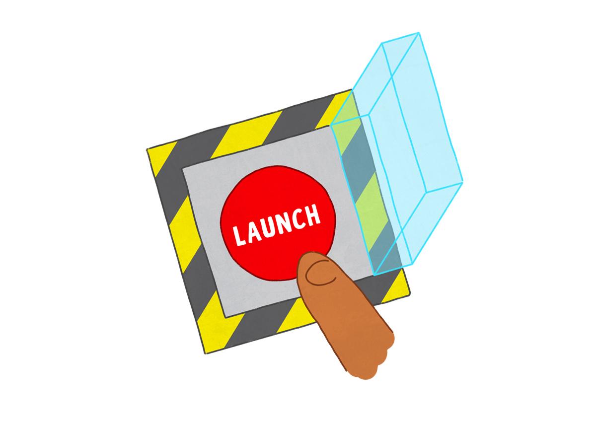 launching apps like uber