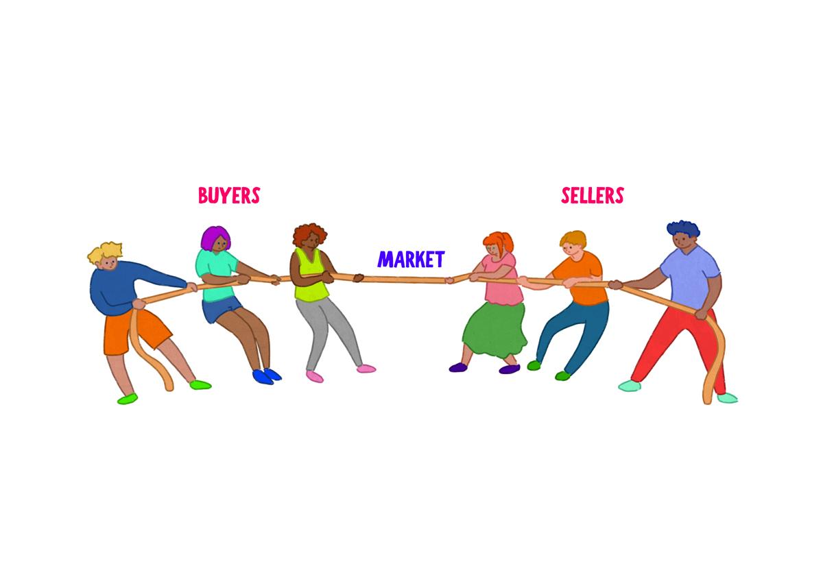 on demand economy buyers sellers market