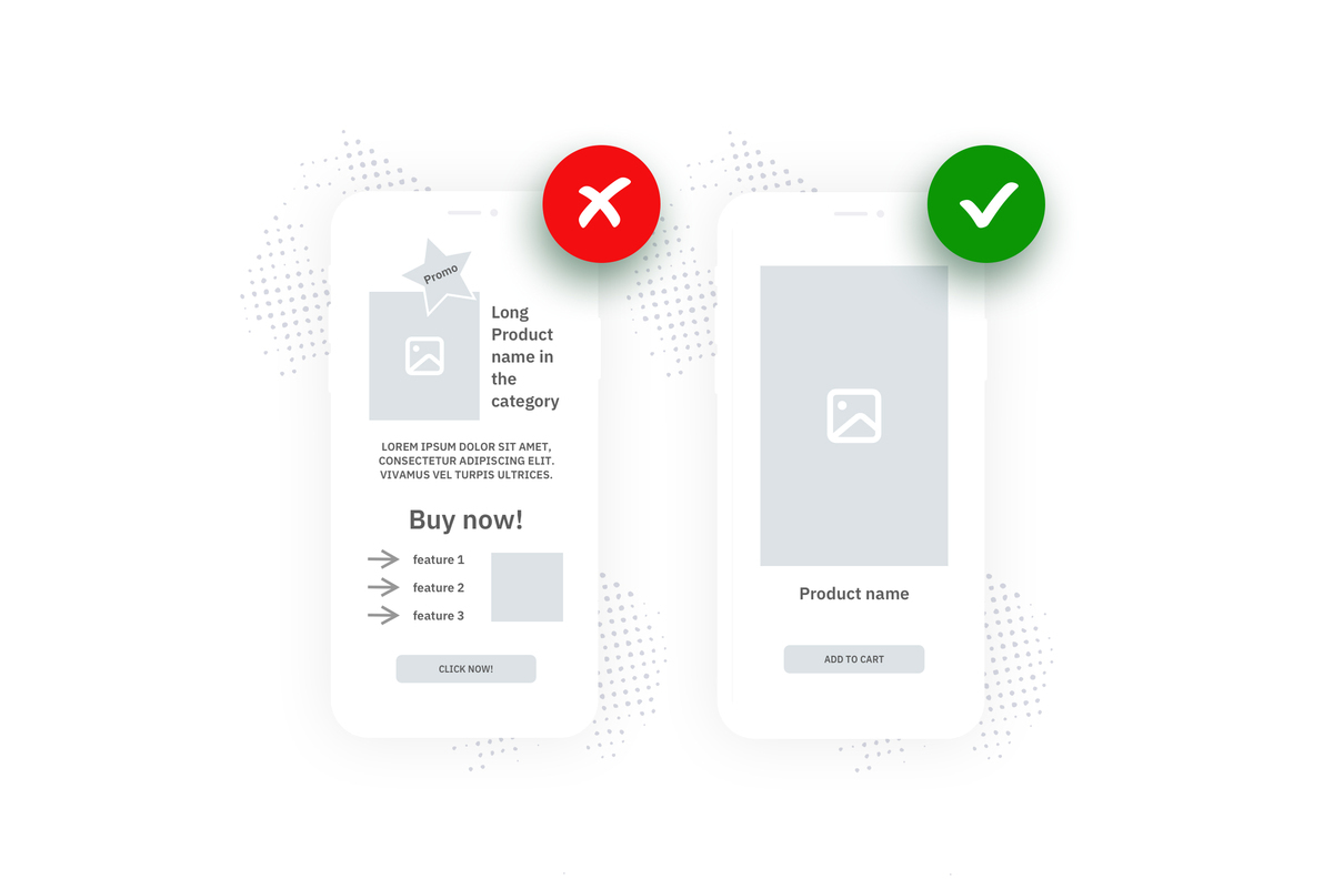 bad mobile app design examples