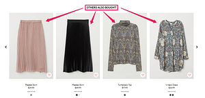 collaborative filtering in ecommerce