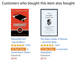 amazon recommender system in ecommerce
