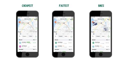 rideshare companies bellhop app